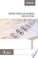 Diseño básico de páginas web en HTML