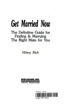 Ebook Get married now Epub Hilary Rich Apps Read Mobile