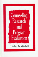 Counseling Research And Program Evaluation