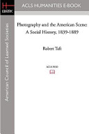 Photography and the American Scene
