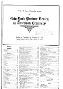New York Produce Review and American Creamery