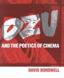 Ebook Ozu and the Poetics of Cinema Epub David Bordwell Apps Read Mobile