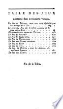 illustration Académie universelle des jeux, édition augmentée du jeu des échecs, du jeu de whist