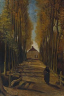 Avenue of Poplars in Autumn  Vincent Van Gogh