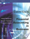 Essentials of Financial Accounting in Business
