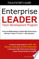 Enterprise LEADER Team Development Program   Facilitator s Guide