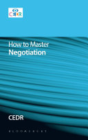How To Master Negotiation