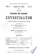 The Physicians and Surgeons  Investigator