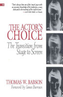 The Actor s Choice