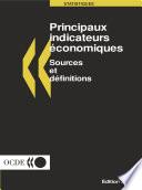illustration Principaux indicateurs économiques : Sources et définitions 2000