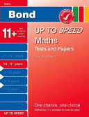 Bond Up to Speed Maths Tests and Papers, 10-11+ Years