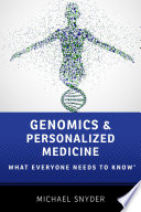 Genomics and Personalized Medicine