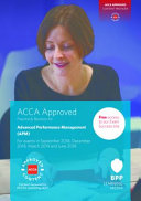 ACCA Advanced Performance Management Our Suite Of Study Tools Will Provide You