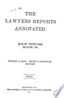 The Lawyers Reports Annotated Book PDF