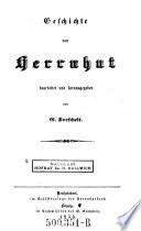 Geschichte von Herrnhut