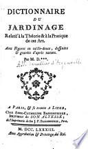 Dictionnaire du jardinage