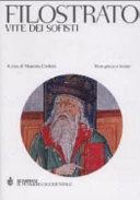 Vite dei sofisti Book Cover