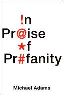 download ebook in praise of profanity pdf epub