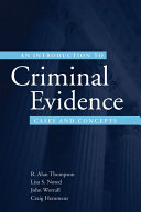 An Introduction to Criminal Evidence