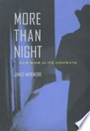 More Than Night