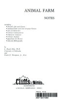 Cliffs notes on Orwell s Animal farm