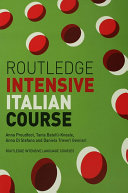 Book Routledge Intensive Italian Course