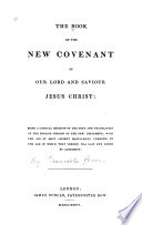 The Book of the New Covenant