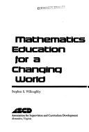Mathematics education for a changing world