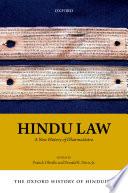 The Oxford History of Hinduism  Hindu Law