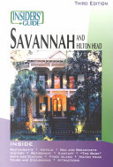 Insiders  Guide to Savannah and Hilton Head