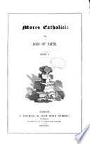 Mores Catholici, Or Ages of Faith
