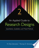 An Applied Guide to Research Designs