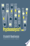 Why Psychoanalysis