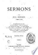 Sermons tome II
