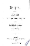Lothar. Ein Gedicht in 10 Gesängen. 2. Aufl