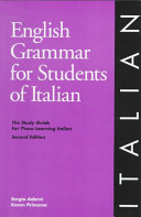 English Grammar for Students of Italian