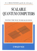 Scalable Quantum Computers