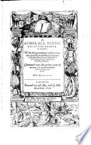 download ebook a generall historie of the netherlands: with the genealogie and memorable acts of the earls of holland, zeeland, and west-friseland, from thierry of aquitaine the first earle, successively unto philip the third, king of spain: continued unto ... 1608, out pdf epub