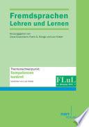 Fremdsprachen Lehren und Lernen 2012