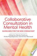 Collaborative Consultation in Mental Health