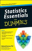 Statistics Essentials For Dummies