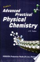 Advanced Practical Physical Chemisty