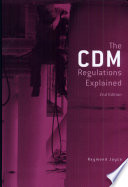 The Construction Design And Management Regulations 1994