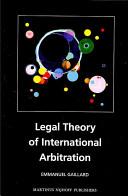 Legal Theory of International Arbitration