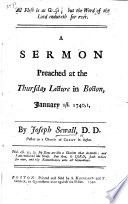 All Flesh is as Grass  but the Word of the Lord endureth for ever  A sermon  on 1 Pet  i  24  25  preached     January 1st  1740  1