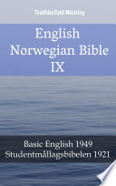 English Norwegian Bible IX