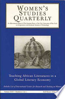 Teaching African Literatures in a Global Literary Economy 3   4