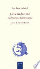 Della traduzione  Dall estetica all epistemologia