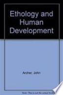 Ethology and Human Development