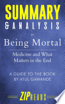Being Mortal Pdf/ePub eBook